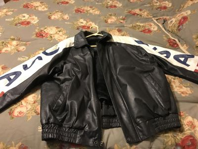 Leather USA Jacket - category is women s but also can be for men