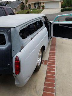 Type 3 rear Fiberglass fenders w/taillights