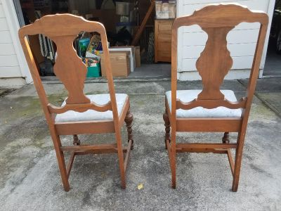 Antique Dining RM Chairs