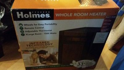 BRAND NEW Holmes Infrared Whole Room Heater