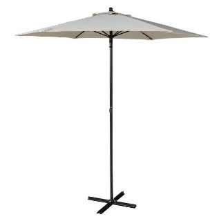 7.2 ft Outdoor Patio Sunshade Umbrella with Cross Base
