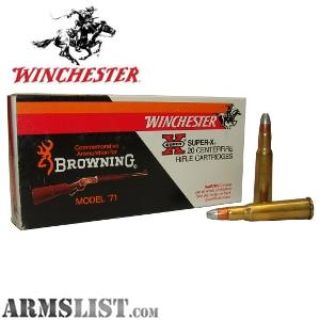 For Sale: Winchester Super-X 348 Winchester 200gr. Silvertip Ammunition 20 Round Box 6 BOXES FOR SALE