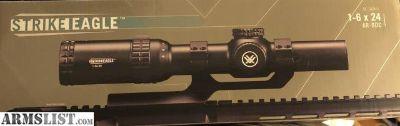 For Sale: Vortex Strike Eagle 1-6x24 w/ vortex mount