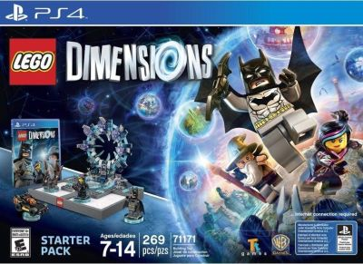 Lego Dimensions Starter Pack PS4 Brand New!!