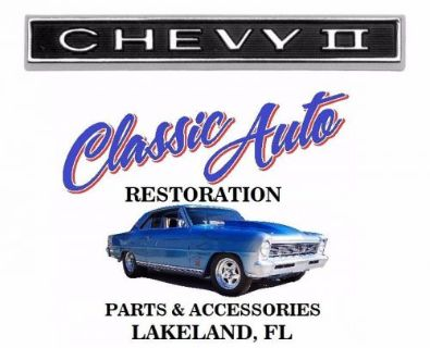Purchase 1966 66 Chevy II Nova Grille Grill Emblem 3874540 motorcycle in Lakeland, Florida, United States, for US $46.95