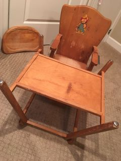 1940 s highchair/play table