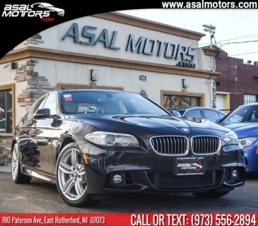 2015 BMW 5-Series 4dr Sdn 535i xDrive AWD (Carbon Black Metallic)