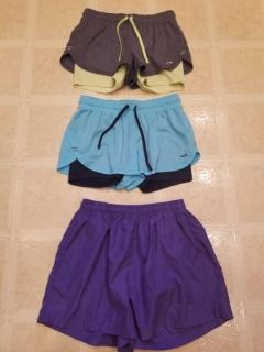 Champion and Wilson sport shorts for ladies