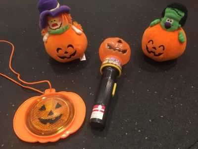 Halloween items for the kiddos.