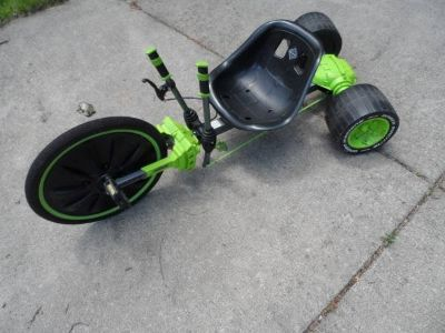 Huffy Green Machine Drift Trike, 3-Wheel Bike