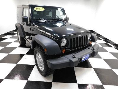 2007 Jeep Wrangler Rubicon (Black Clearcoat/Black Hard Top)