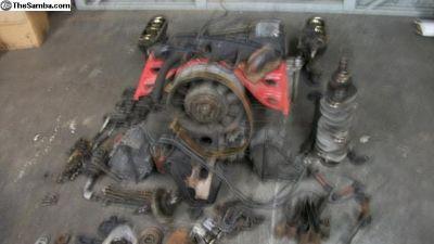 Porsche 911 engine 1968 S needs to rebuilt