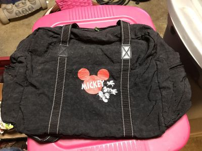 Big Mickey Mouse Duffle Bag