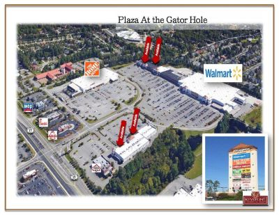 Plaza at the Gator Hole-2,939 SF-Unit 7, Retail/Office Space For Lease North Myrtle Beach, SC