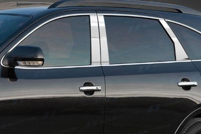 Buy SES Trims TI-P-220 05-09 fits Hyundai Tucson Door Pillar Posts Window Covers motorcycle in Bowie, Maryland, US, for US $63.70