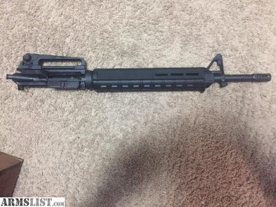 "For Sale/Trade: 20"" stag arms ar complete upper"
