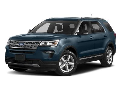 2018 Ford Explorer Limited (Magnetic Metallic)