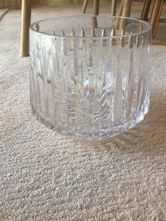 Gorham crystal punch bowl