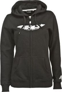 Sell Fly Racing Womens Corporate Hoody Zip Up Sweatshirt Black S/M/L/XL/2X motorcycle in Hinckley, Ohio, United States, for US $49.95