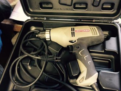 $30, Craftsman Electric Drill w Case