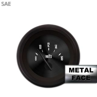 Find Volt Gauge - SAE American Classic Black V, Black Modern Needles, Black Trim motorcycle in Portland, Oregon, United States, for US $36.00