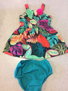 Dress with matching bloomers