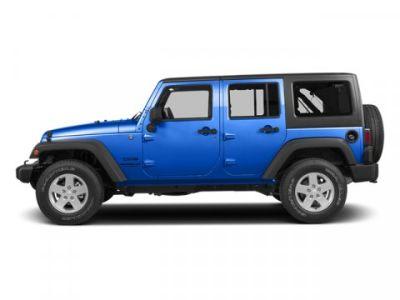 2014 Jeep Wrangler Unlimited Sahara (Hydro Blue Pearl Coat)