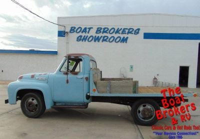 1953 FORD F350 FLATBED PICKUP