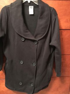 North Face casual black jacket-excellent condition