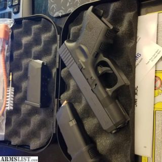 For Sale: Glock 26 9mm