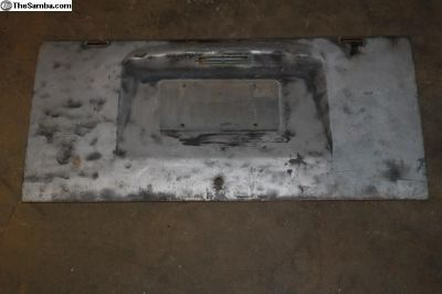 59-64 Bus Decklid Engine Lid