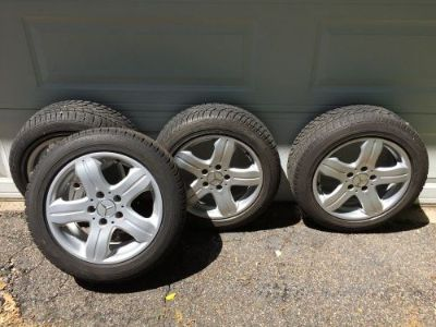 "Sell MERCEDES BENZ OEM 16"" WHEELS WITH DUNLOP WINTER TIRES motorcycle in Minneapolis, Minnesota, United States"