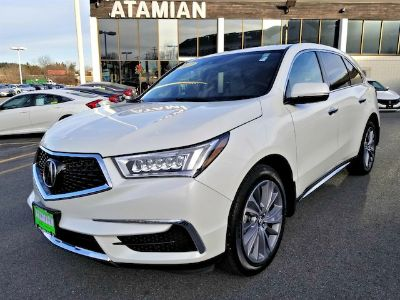 2017 Acura MDX 3.5L w/Technology Package (white)