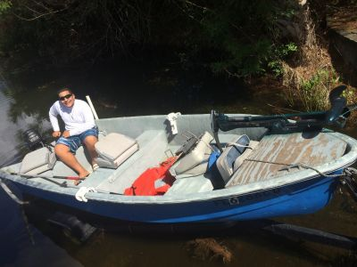 14 ft fiberglass jon boat