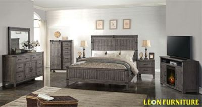 Black Friday Sale 2018 King Bedroom Collection Leon Furniture Store