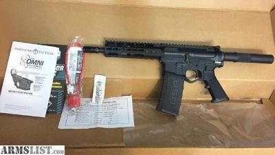 "For Sale/Trade: New ATI Omni Hybrid Maxx 5.56 223 AR pistol 556 AR15 7"" Barrel"