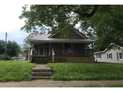 3 Bed 1.0 Bath Preforeclosure Property in Rushville, IN 46173 - W 11th St