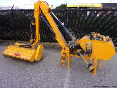 Tiger Rear Flail Boom Mower