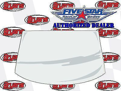 """Find FIVE STAR RACING BODIES 564-6325-1 FRONT WINDSHIELD 1/8"""" MOLDED MAR-RESISTANT motorcycle in Santee, California, United States, for US $341.99"""