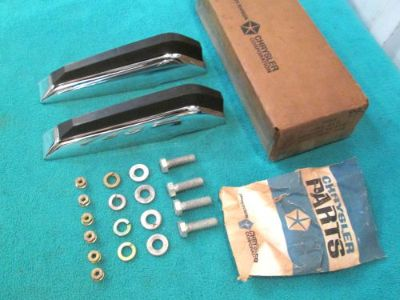 Sell NOS MOPAR 1970 DODGE POLARA, MONACO, REAR BUMPER GUARD PACKAGE, #3481818, MINT motorcycle in Stillwater, Minnesota, United States, for US $99.95