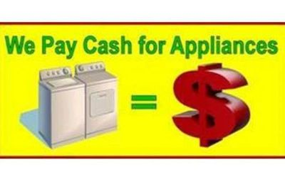 We Pay Cash For Your Broken Stoves Washers Dryers Refridgerators