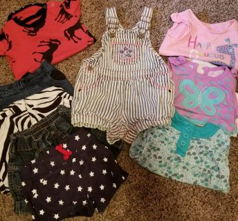 18 month summer baby girl clothes