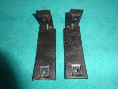 Sell 1970 DODGE CHALLENGER GRILLE SUPPORT BRACKETS TO FENDERS, 1-PR, REFINISHED, NICE motorcycle in Stillwater, Minnesota, United States