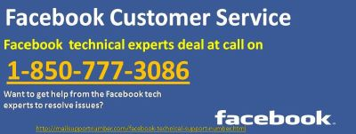 Gain Facebook Customer Service 1-850-777-3086 To Get Help From Fb Tech Experts