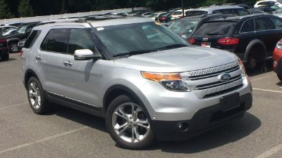 2012 Ford Explorer Limited (Silver)