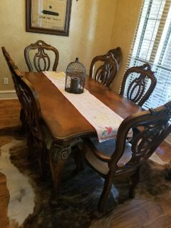 i cant cook. husband said sell the dining room furniture.