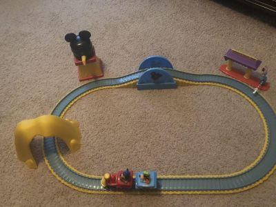 Mickey Mouse Train Set