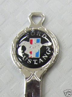 Find Vintage Black Mustang Pony Classic White Gold Key Set 19641/2 1965 1966 NOS Keys motorcycle in Akron, Ohio, US, for US $48.95