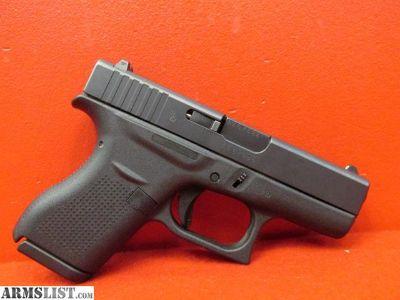 """For Sale: GLOCK 42 Semi Auto Pistol .380 ACP 3.25"""""""