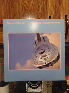 Dire Straits Brothers In Arms 1985 Vinyl Record